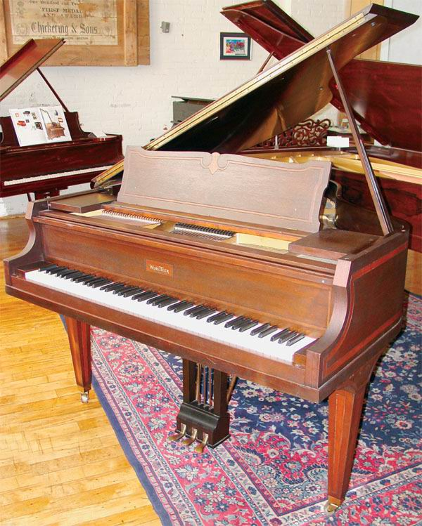 Brenton Evans Piano Restoration Wurlitzer 5 Baby Grand